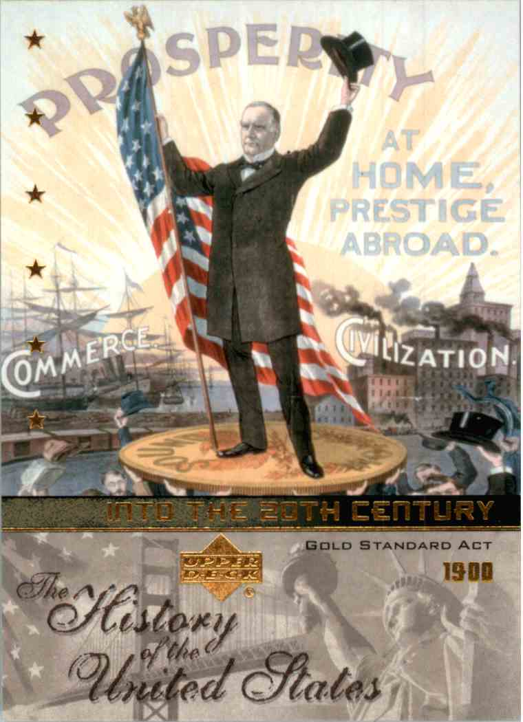History of the United States Complete 10 Card Into the West Set 2004