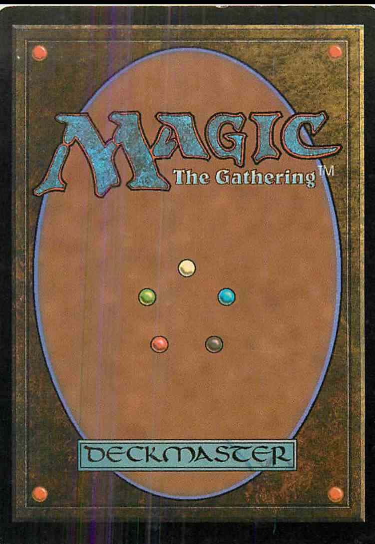 1994 Magic The Gathering Invasion Tainted Well #126 card back image