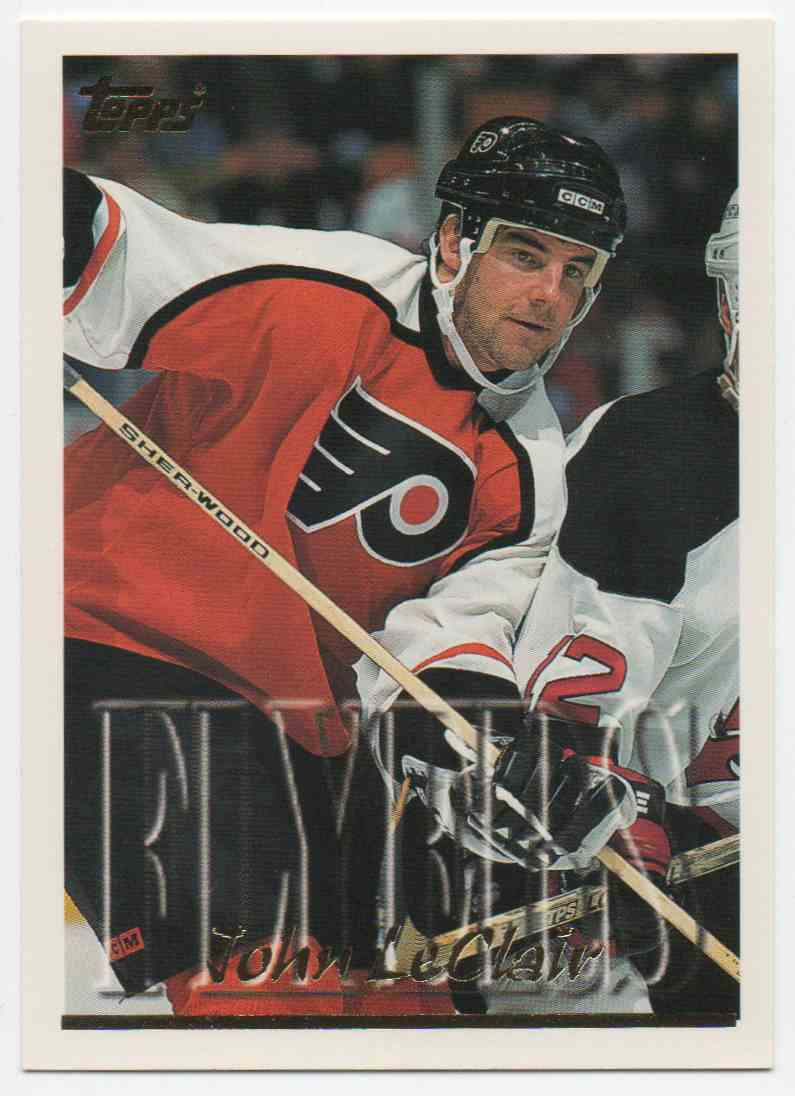 1995-96 Topps John LeClair #65 card front image