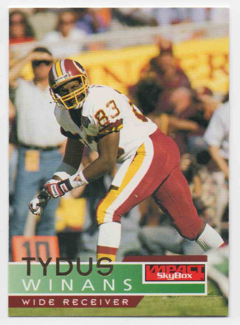 1995 Skybox Impact Tydus Winans #148 card front image