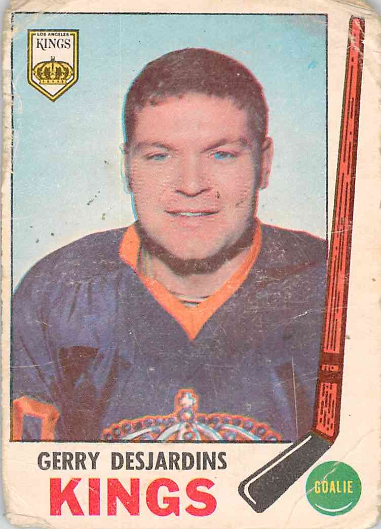1969-70 O-Pee-Chee Gerry Desjardins #99 card front image