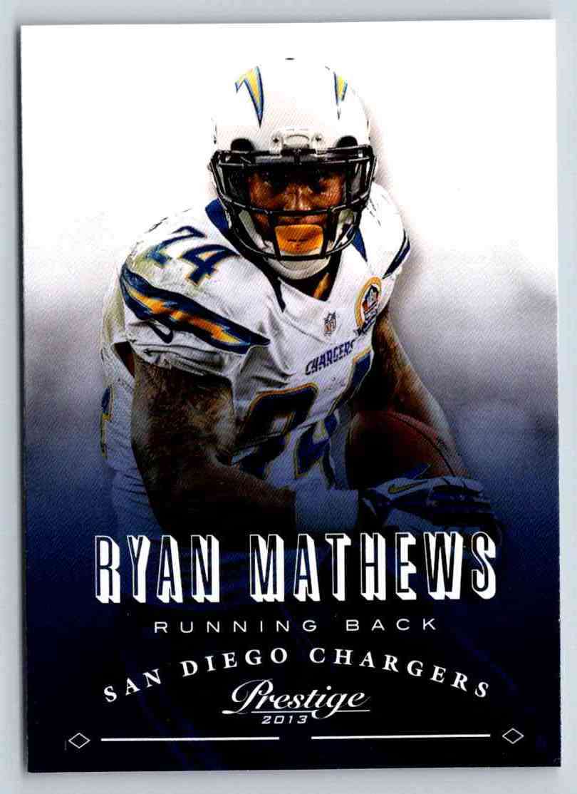 2013 Prestige Ryan Mathews #168 card front image