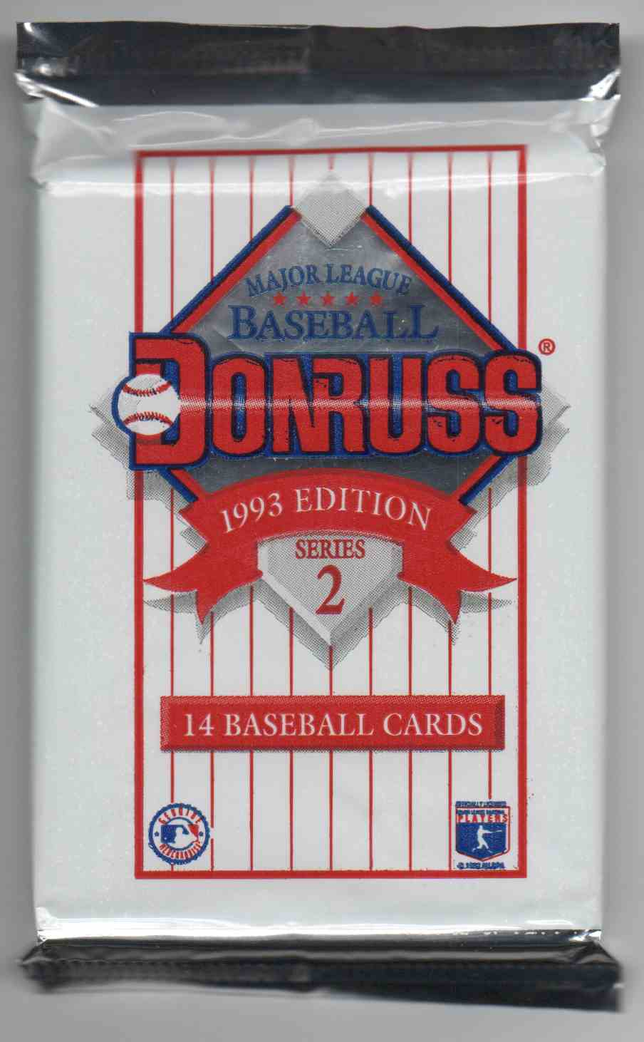 1992 Donruss Series 2 Unopened Pack #14 card front image