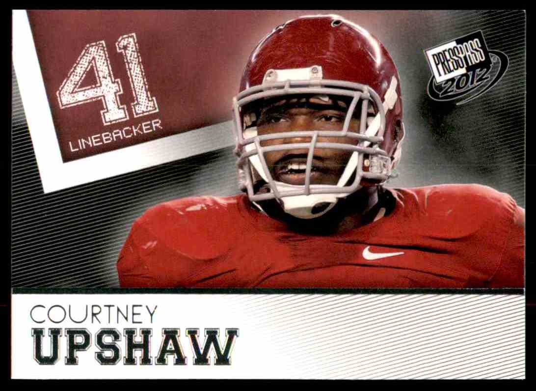2012 Press Pass Courtney Upshaw #47 card front image
