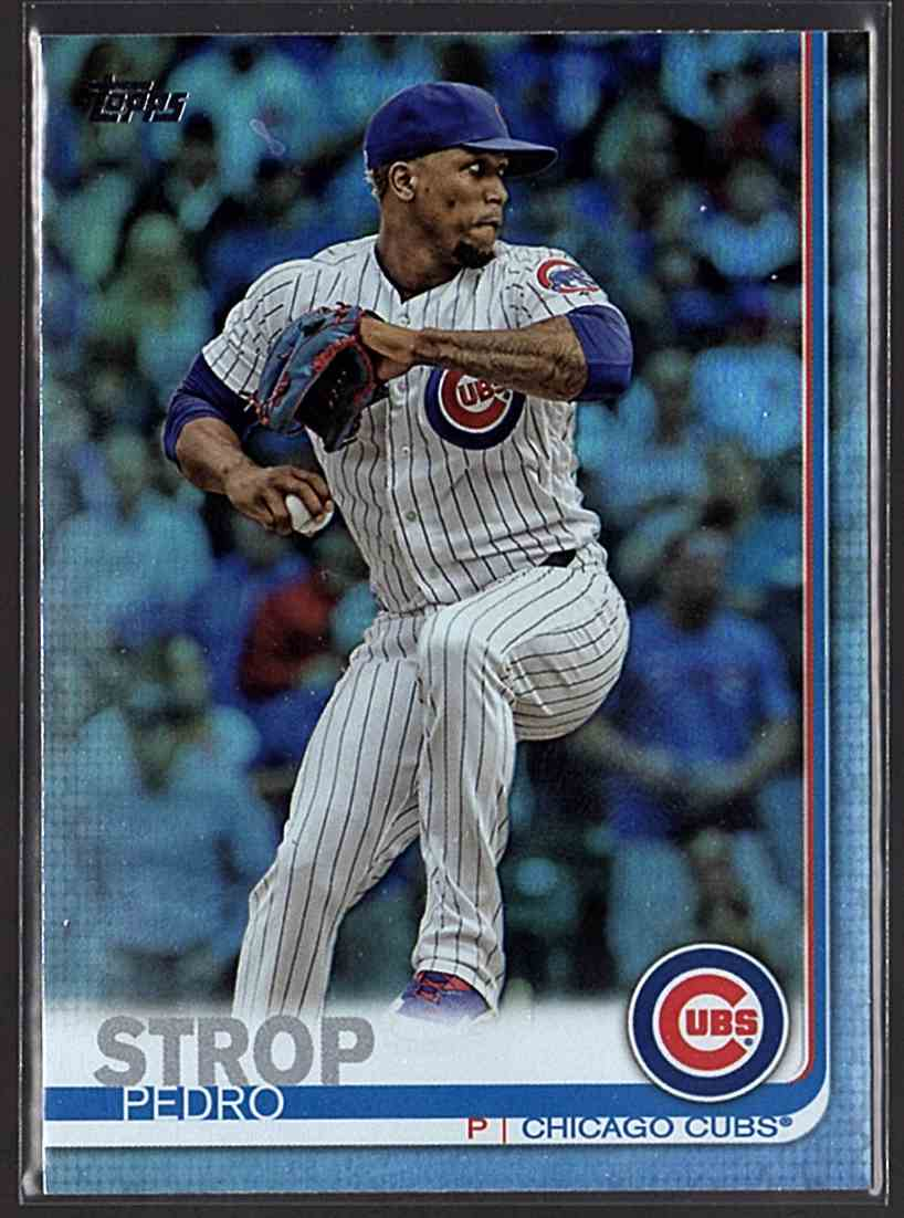 2019 Topps Rainbow Foil Pedro Strop #142 card front image