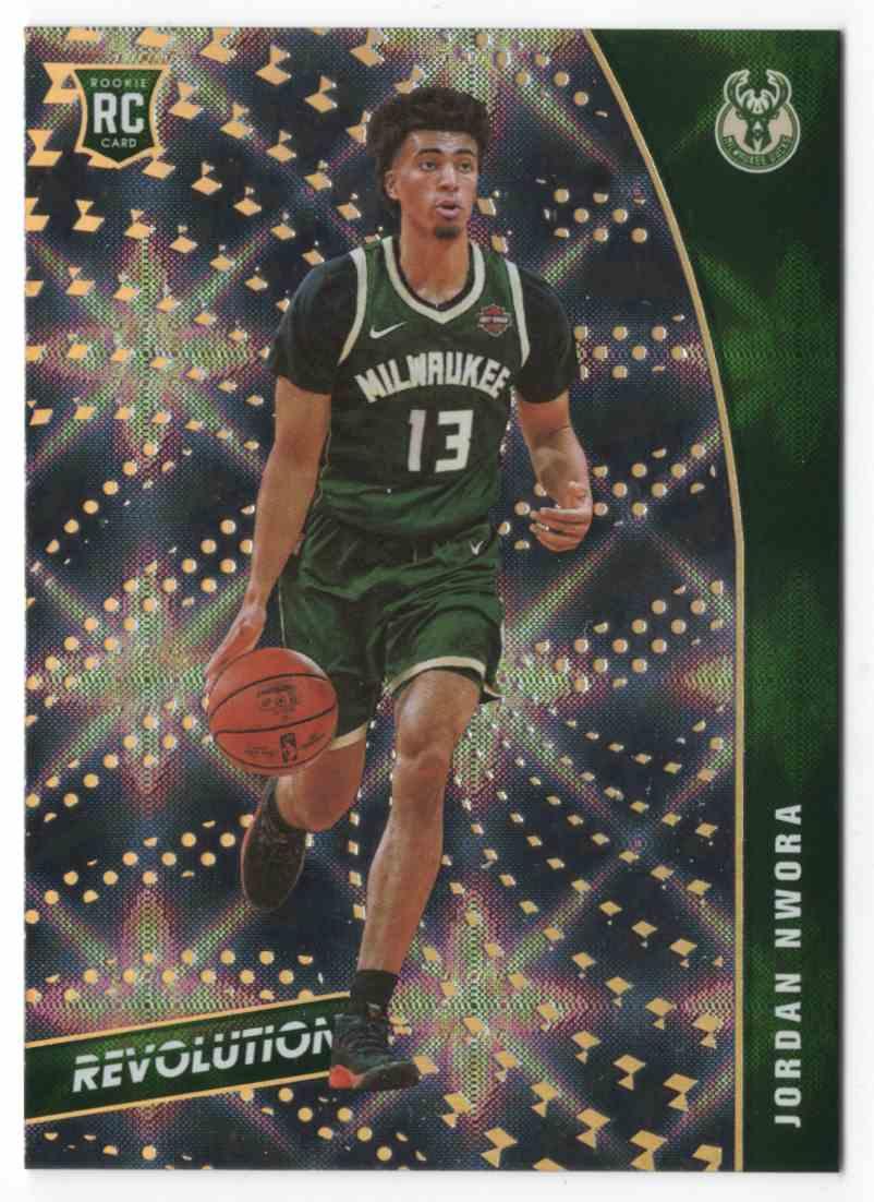 2020-21 Panini Revolution Galactic Jordan Nwora #120 card front image