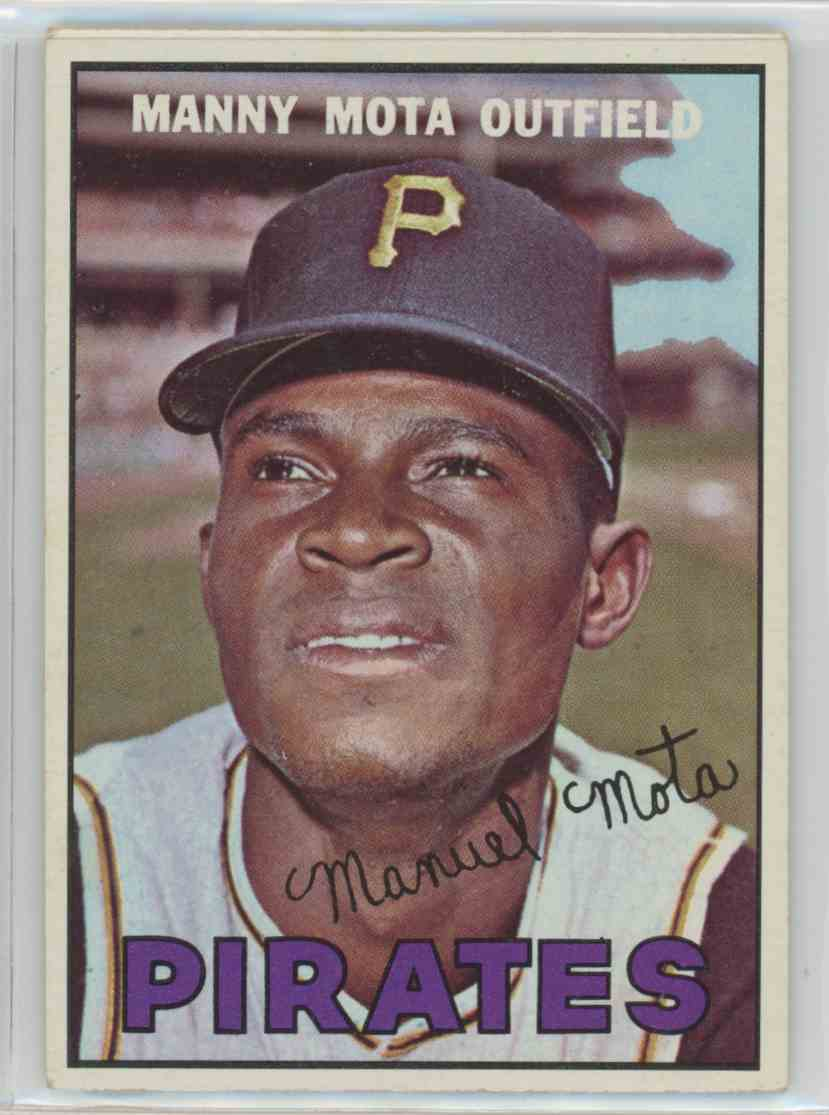 1967 Topps Manny Mota #66 card front image