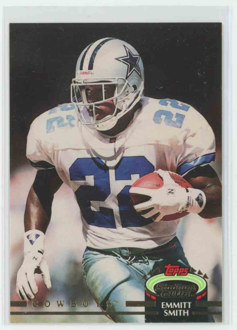 1992 Topps Stadium Club Emmitt Smith 190 On Kronozio