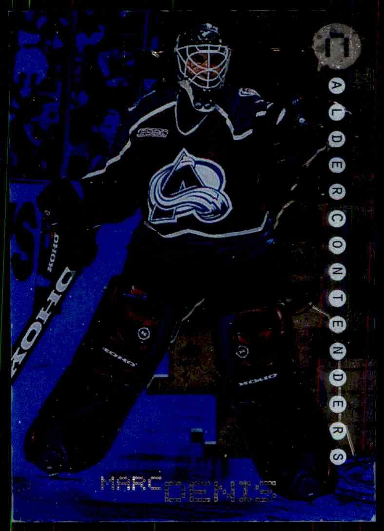 1999-00 Bap Millennium Calder Candidates Sapphire Marc Denis #C43 card front image