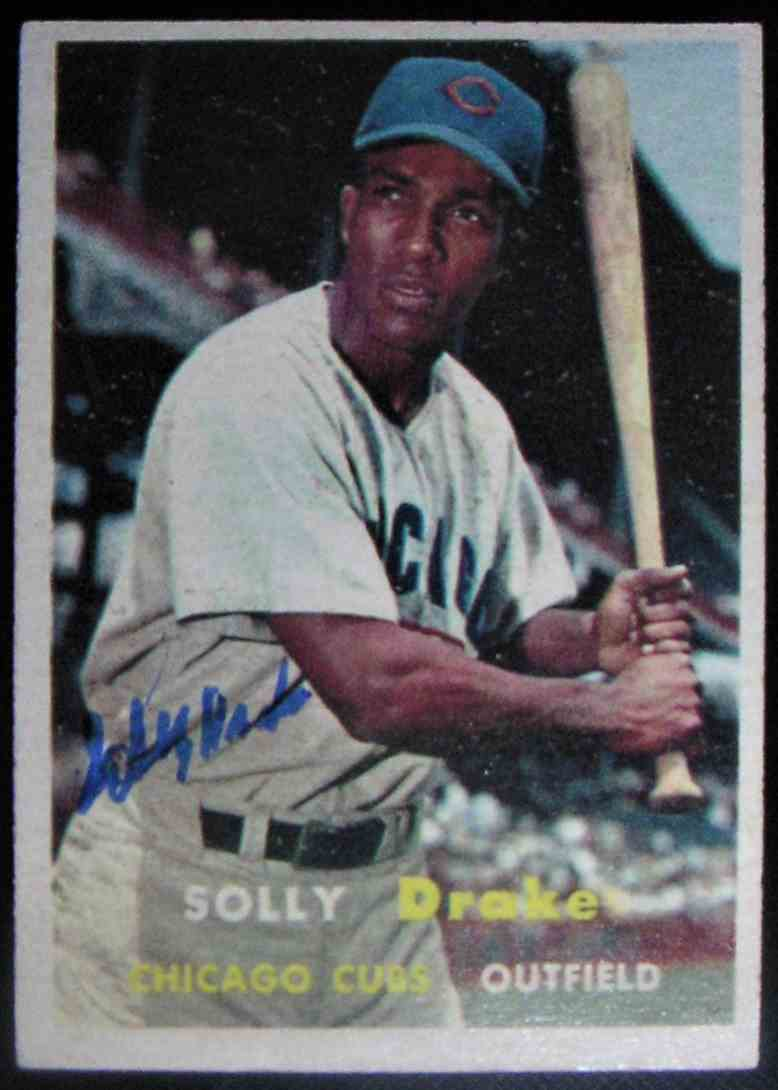 1957 Topps Solly Drake #159 card front image