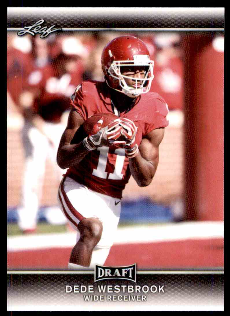 2017 Leaf Draft Dede Westbrook #24 card front image