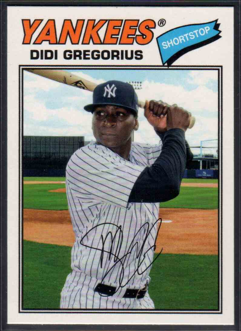 2018 Topps Archives DIDI Gregorius #114 card front image