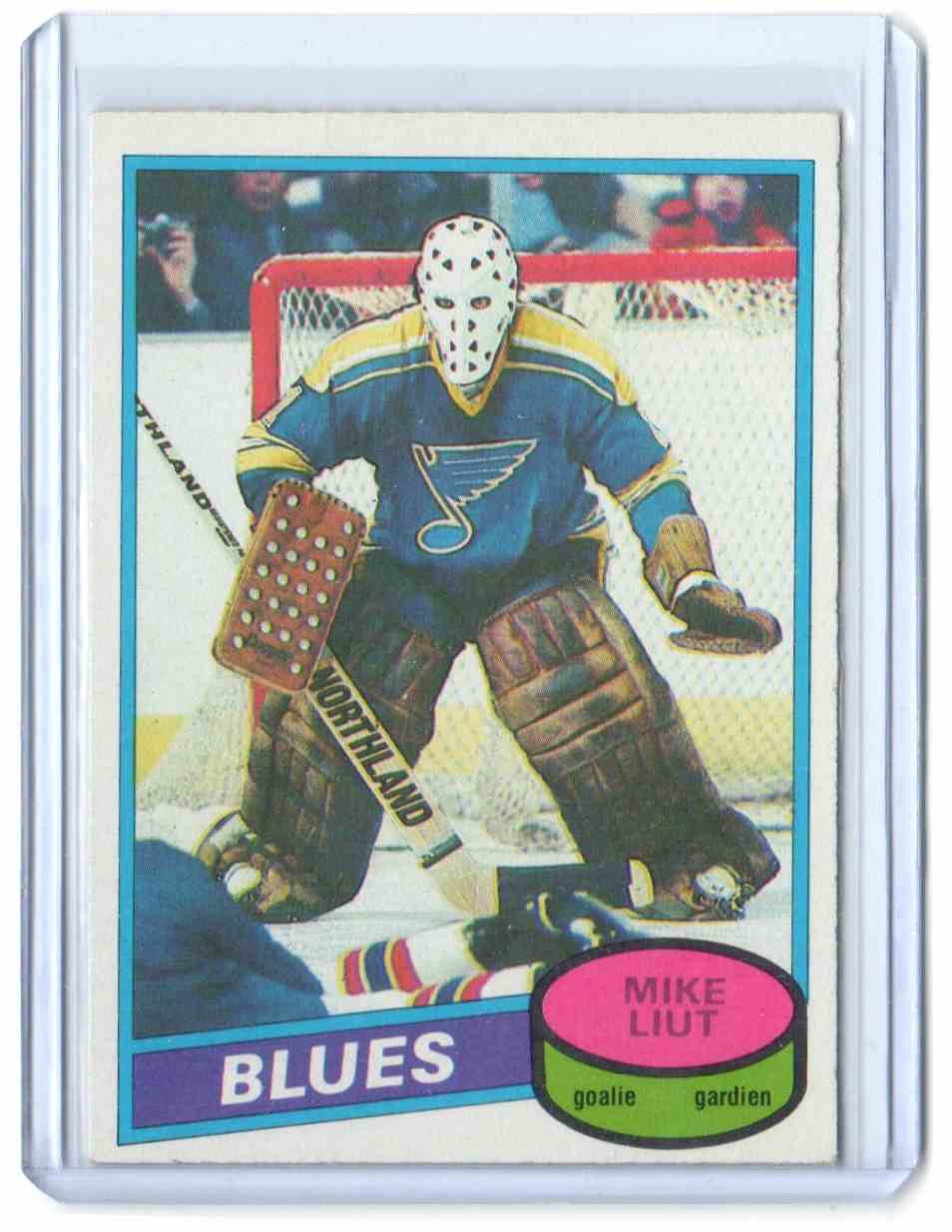 1980-81 O-Pee-Chee Mike Liut #31 card front image