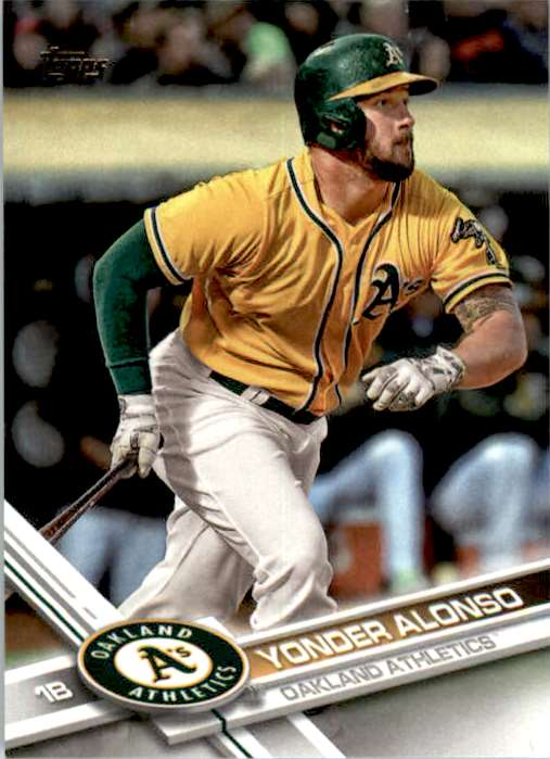 2017 Topps Series 2 Yonder Alonso #484 card front image