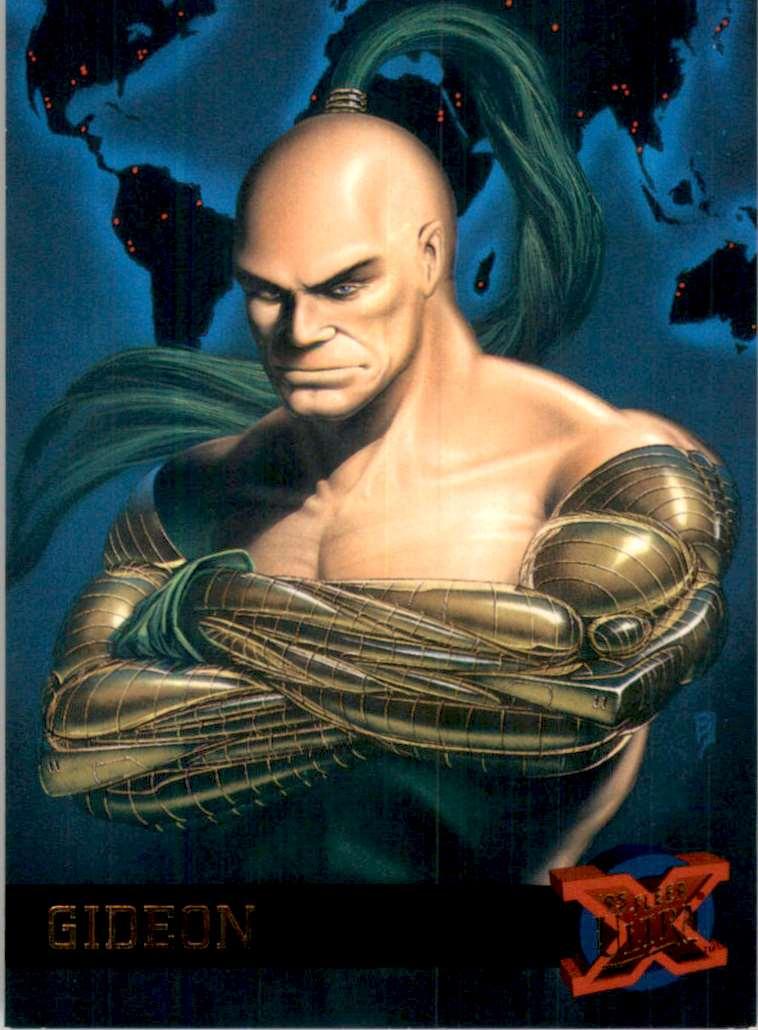 1995 X-Men Ultra Gideon #21 card front image