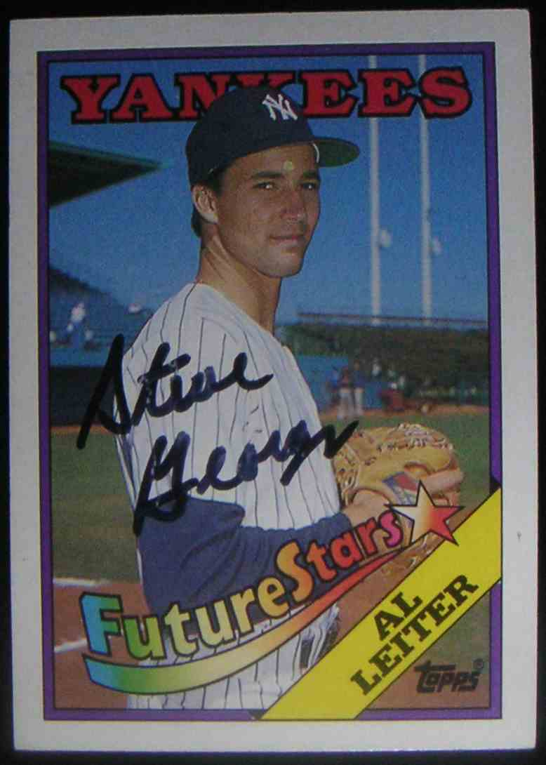 1988 Topps Al Leiter #18 card front image