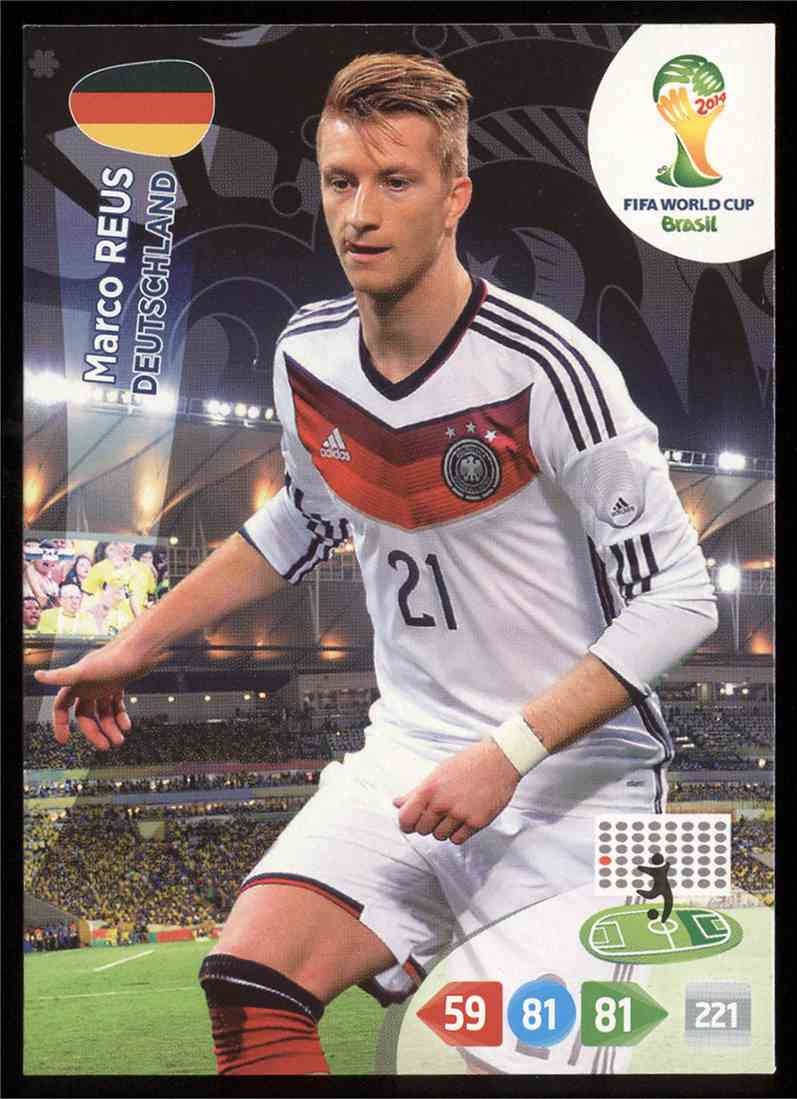 sneakers for cheap cd936 bc142 2014 Panini Adrenalyn XL Fifa World Cup Brazil Marco Reus ...