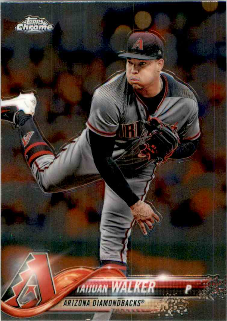 2018 Topps Chrome Taijuan Walker #19 card front image