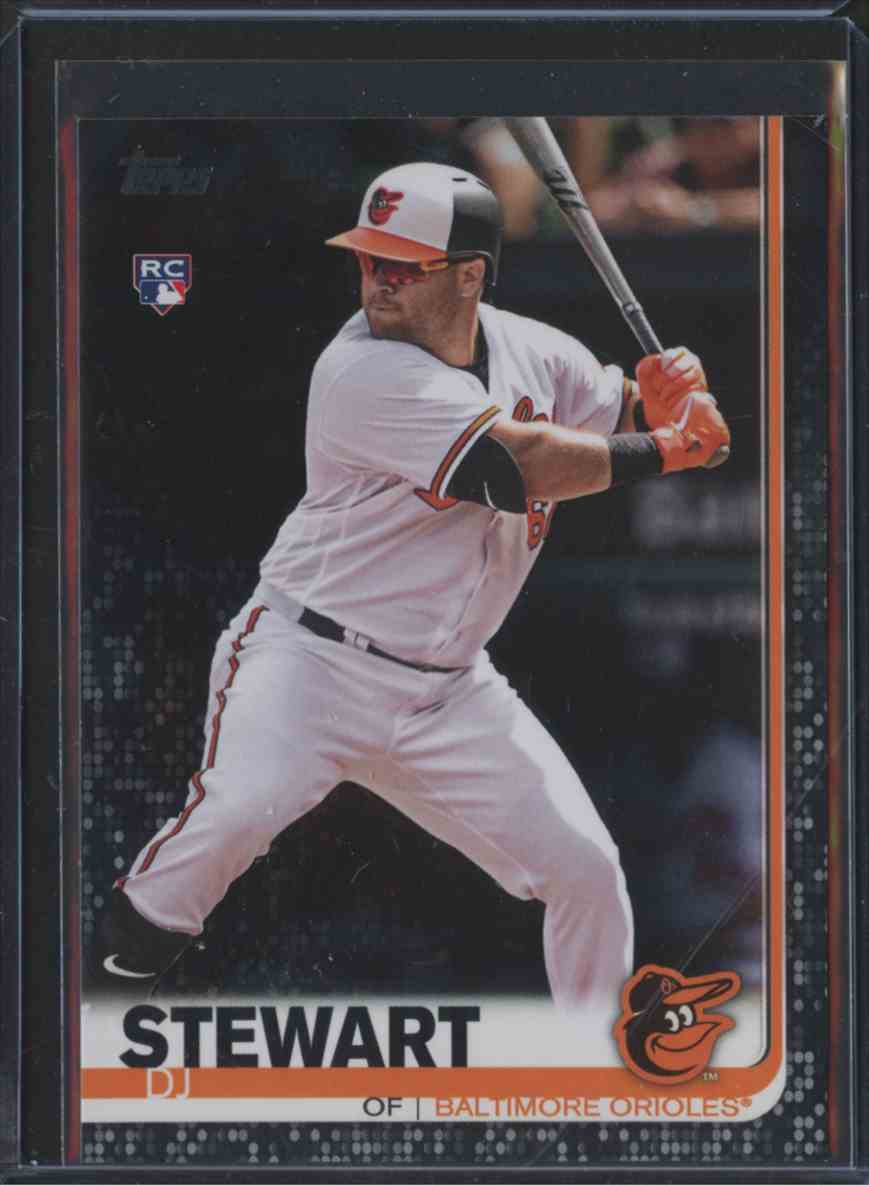 2019 Topps Black Dj Stewart 580 On Kronozio