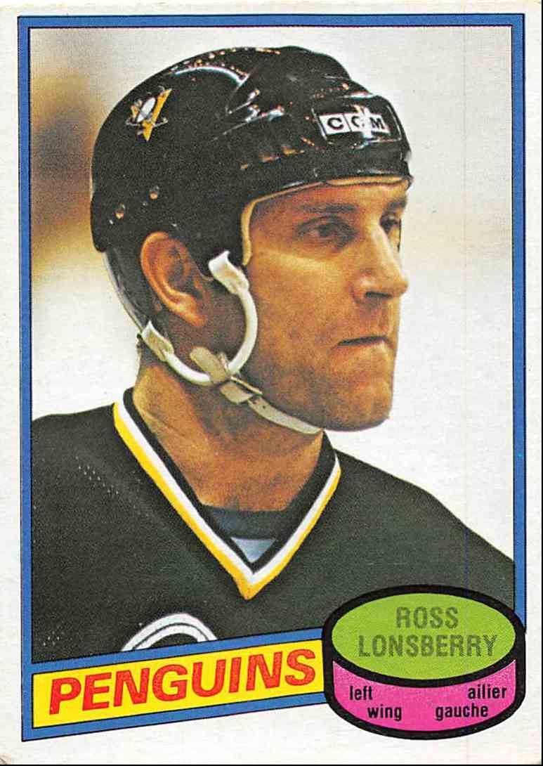 1980-81 O-Pee-Chee Ross Lonsberry #388 card front image