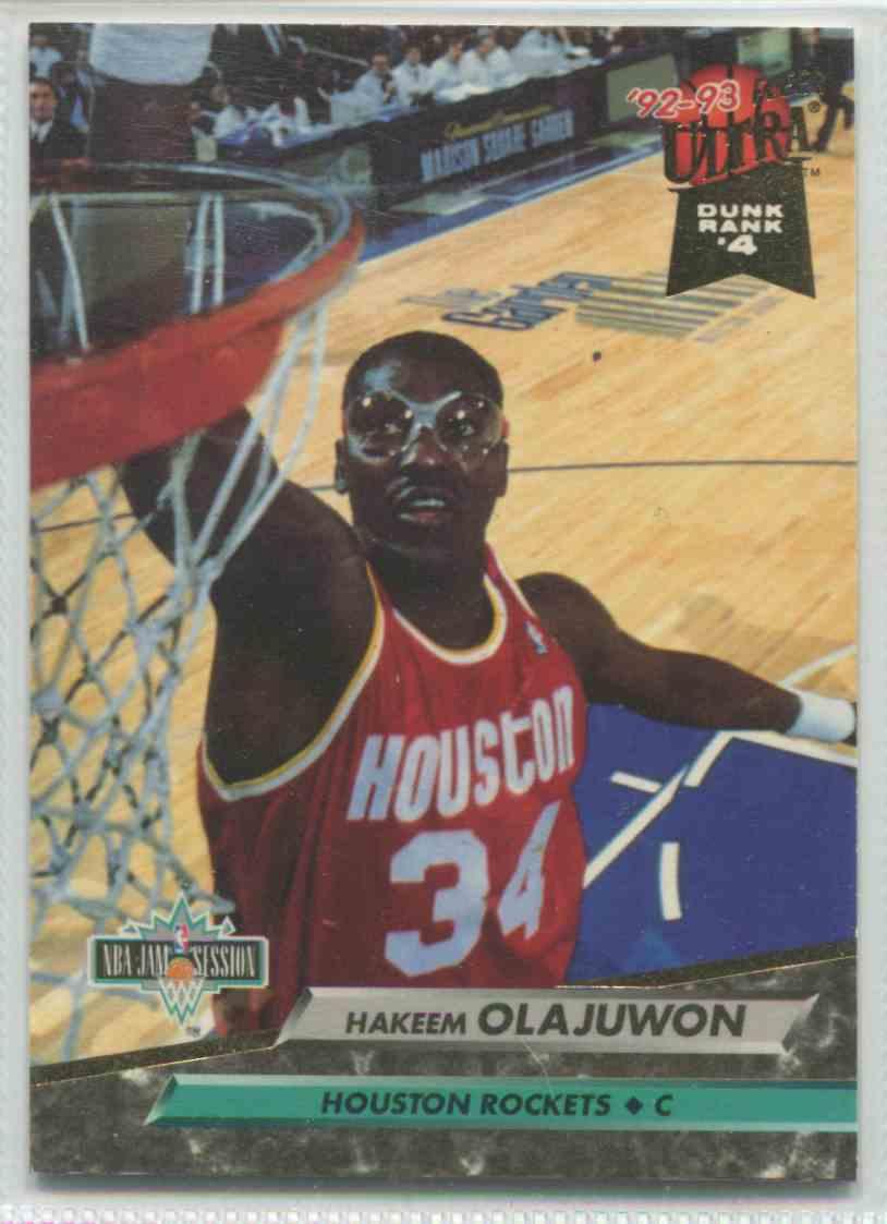 1992 93 Fleer Ultra Hakeem Olajuwon 204 On Kronozio