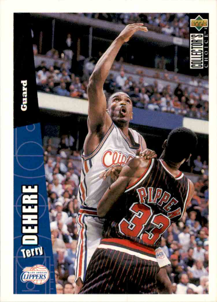 1996-97 Collector's Choice Terry Dehere #260 card front image