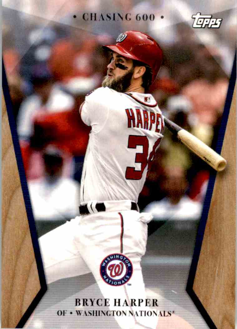 2017 Topps On Demand Chasing 600 Bryce Harper 17 On