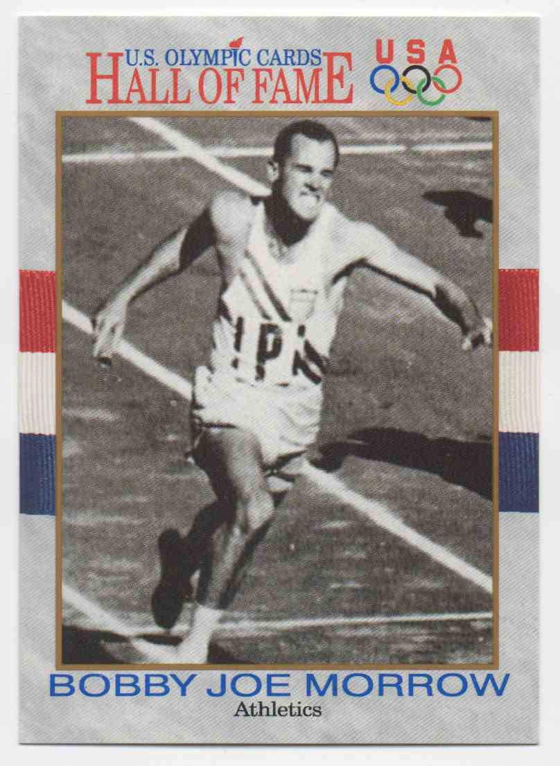 1991 Impel U.S. Olympic Hall Of Fame Bobby Joe Morrow #43 card front image