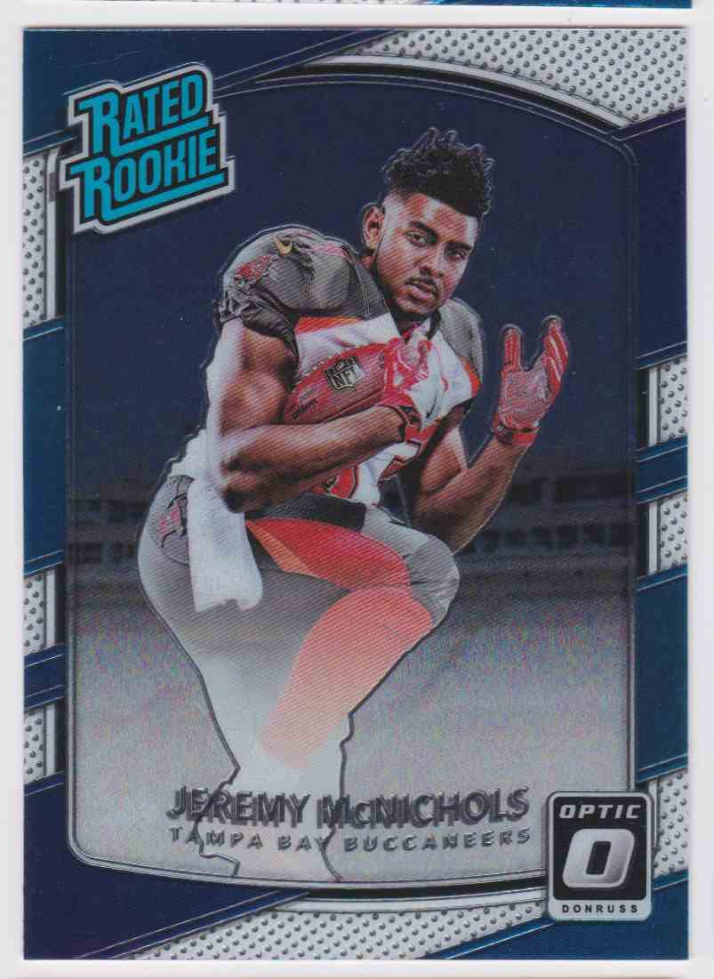 2017 Donruss Optic Rated Rookie Titans Jeremy Mcnichols #200 card front image