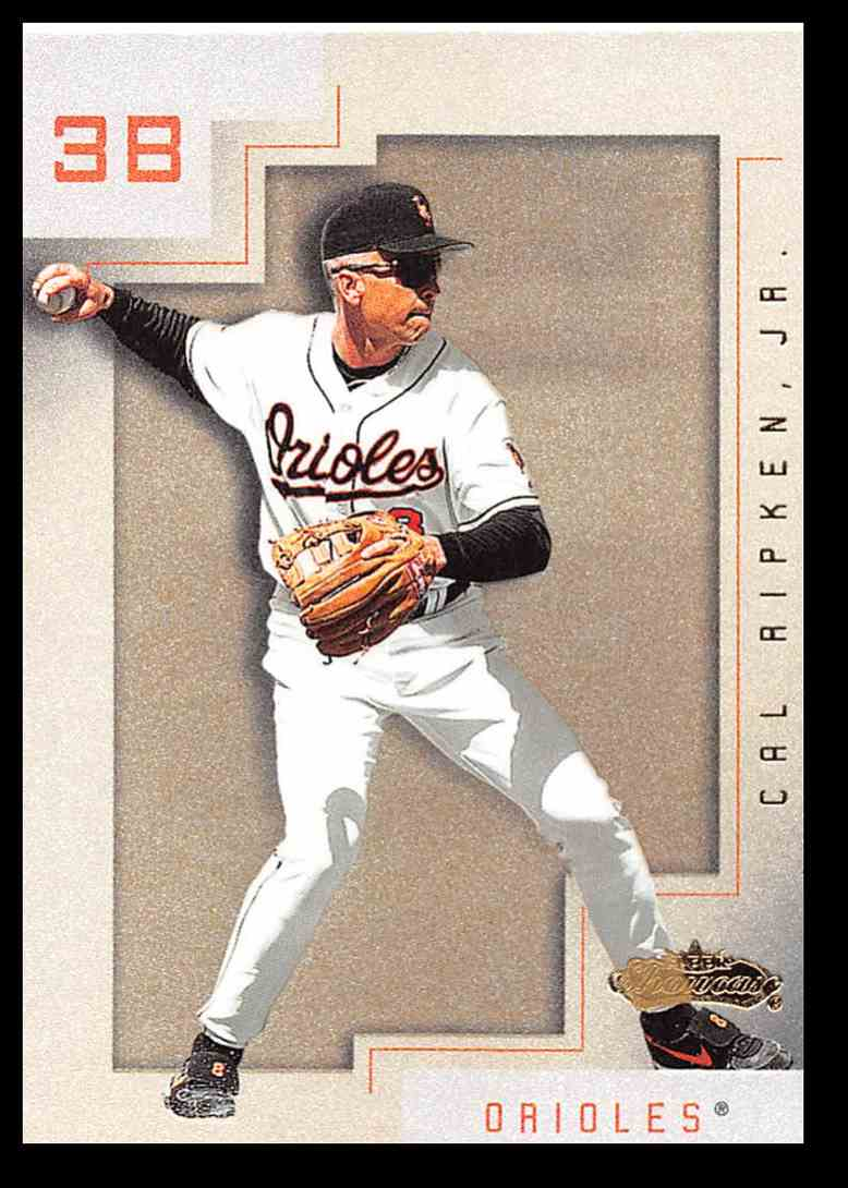 2001 Fleer Showcase Cal Ripken Jr Baseball Card 93 On