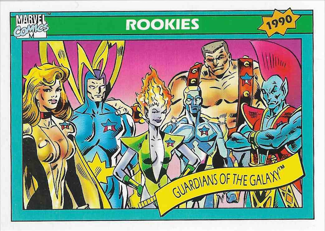 1990 Impel Marvel Guardians Of The Galaxy #84 card front image