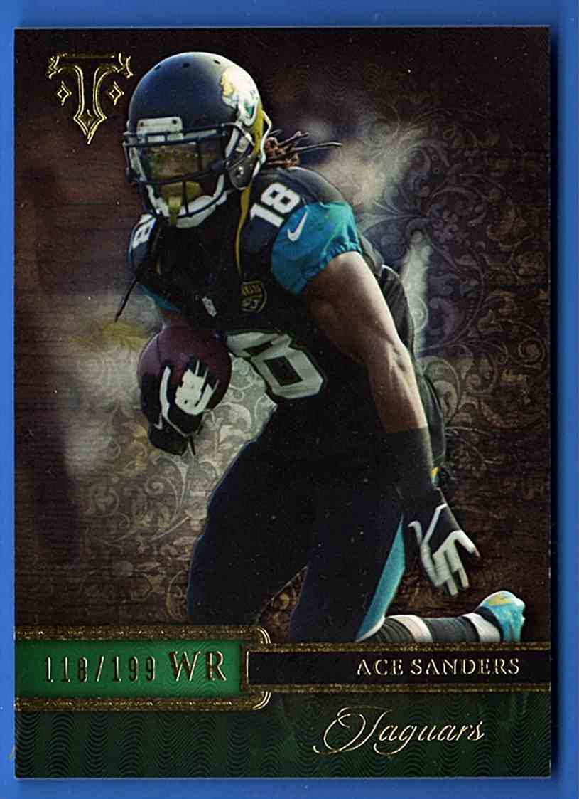 2014 Topps Triple Threads Emerald Ace Sanders #79 card front image