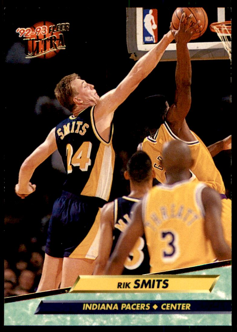 1992 93 Fleer Ultra Rik Smits 80 on Kronozio