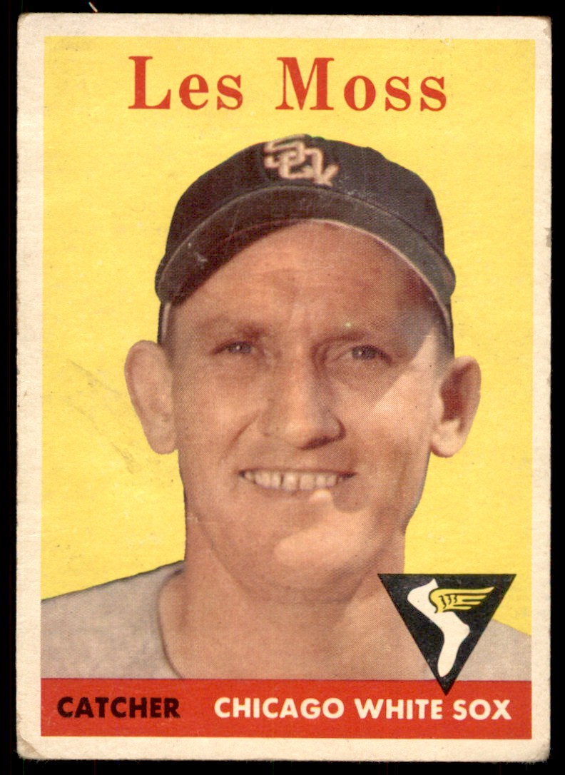 1958 Topps Les Moss #153 card front image