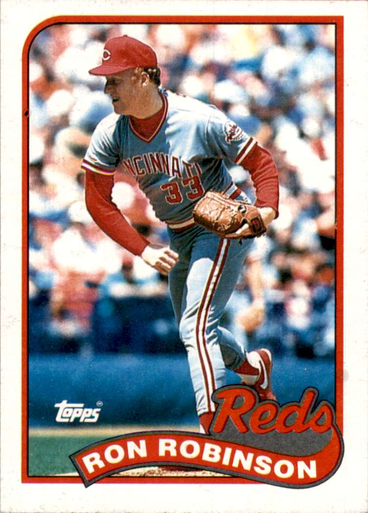 1989 Topps Ron Robinson #16 card front image