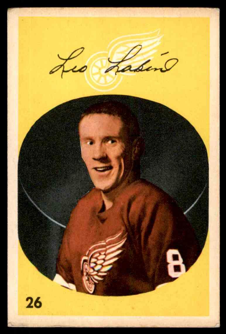 1962-63 Parkhurst Leo Labine #26 card front image