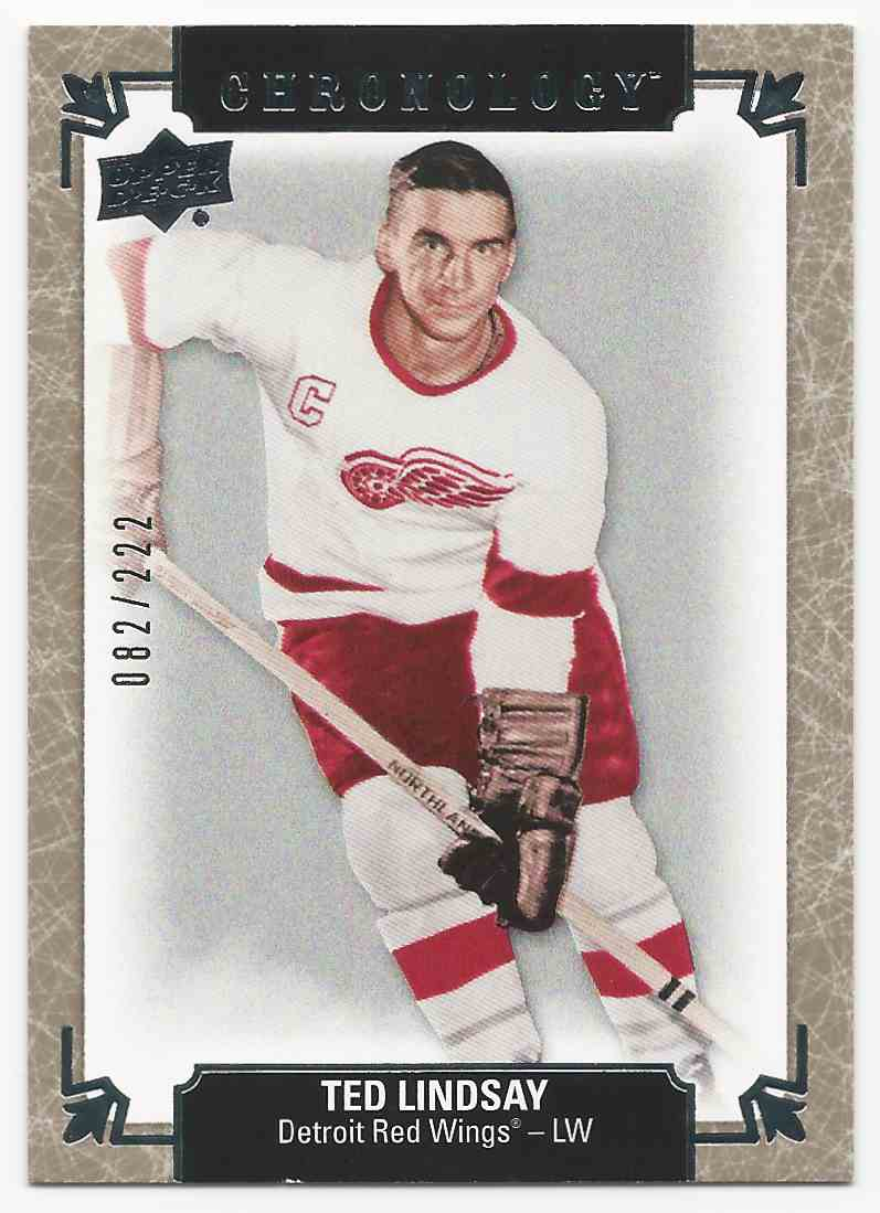 2018-19 Chronology Ted Lindsay #45 card front image