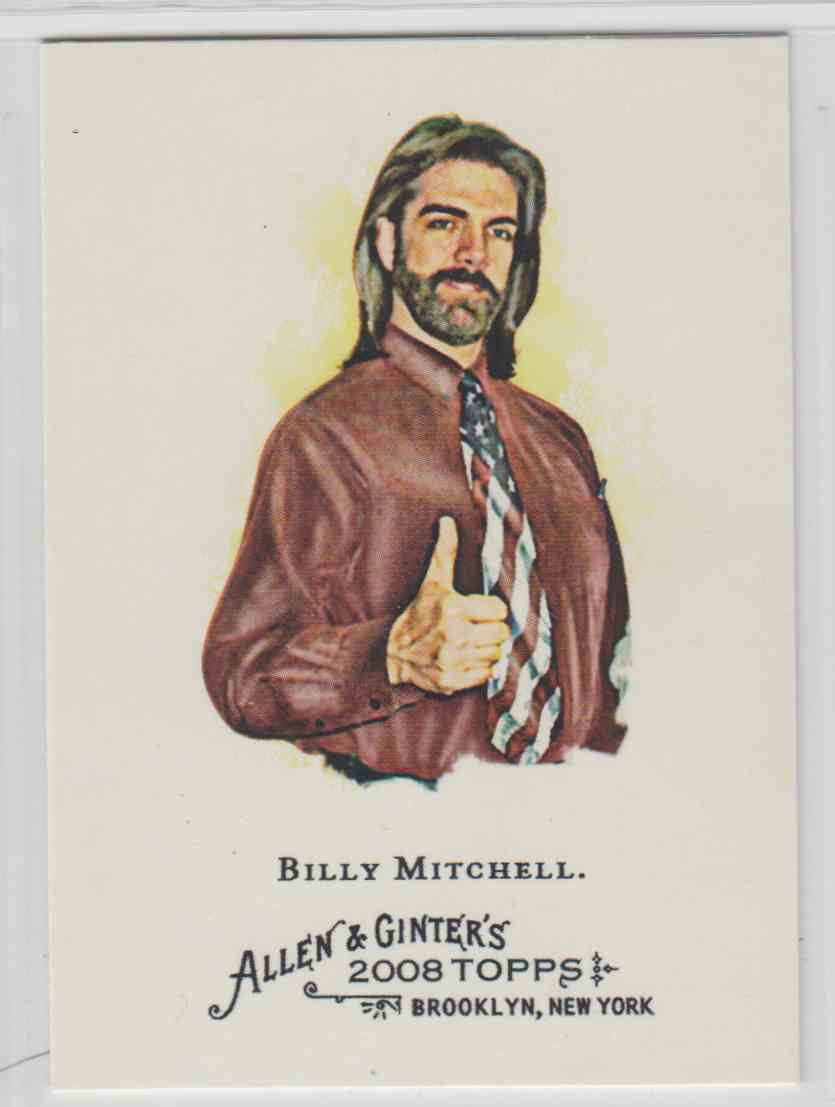 2008 Topps Allen And Ginter Billy Mitchell #119 card front image