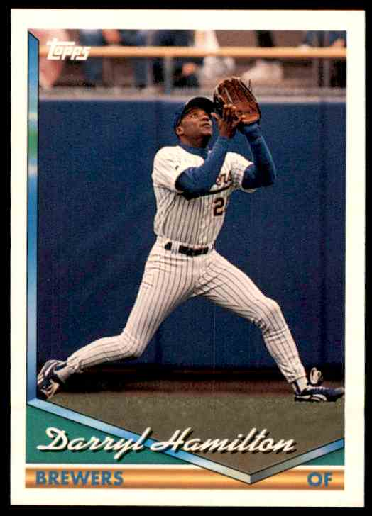 1994 Topps Darryl Hamilton #435 card front image