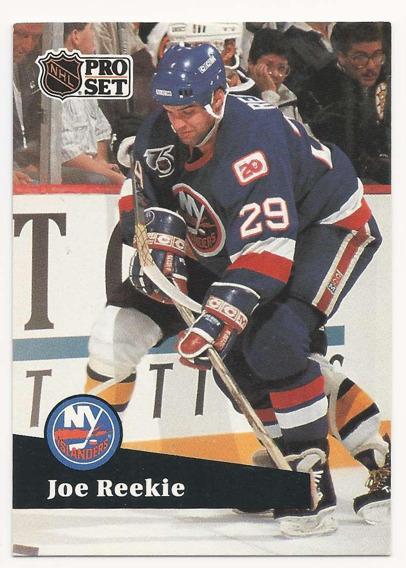 1991-92 Pro Set Joe Reekie #429 card front image