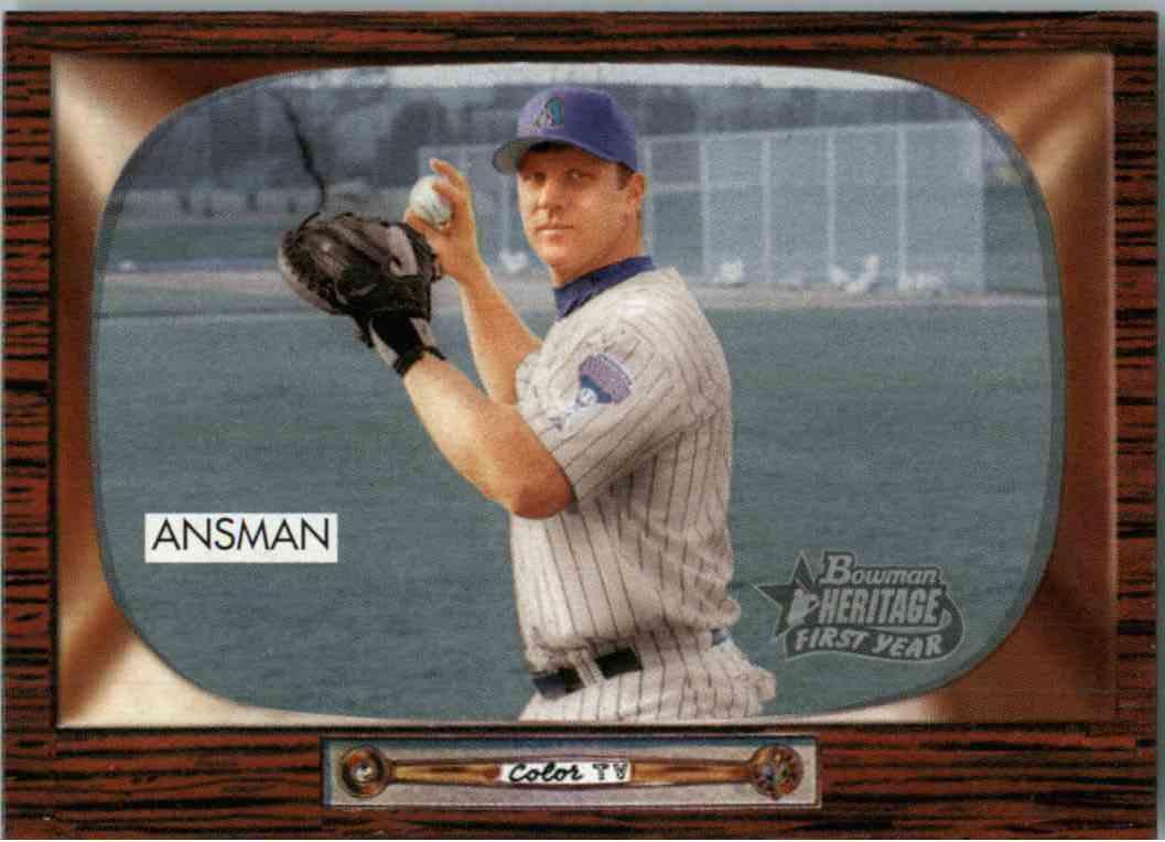 2004 Bowman Heritage Craig Ansman #308 card front image