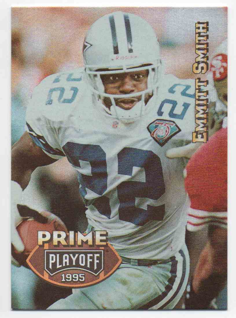1995 Playoff Prime Emmitt Smith #22 card front image