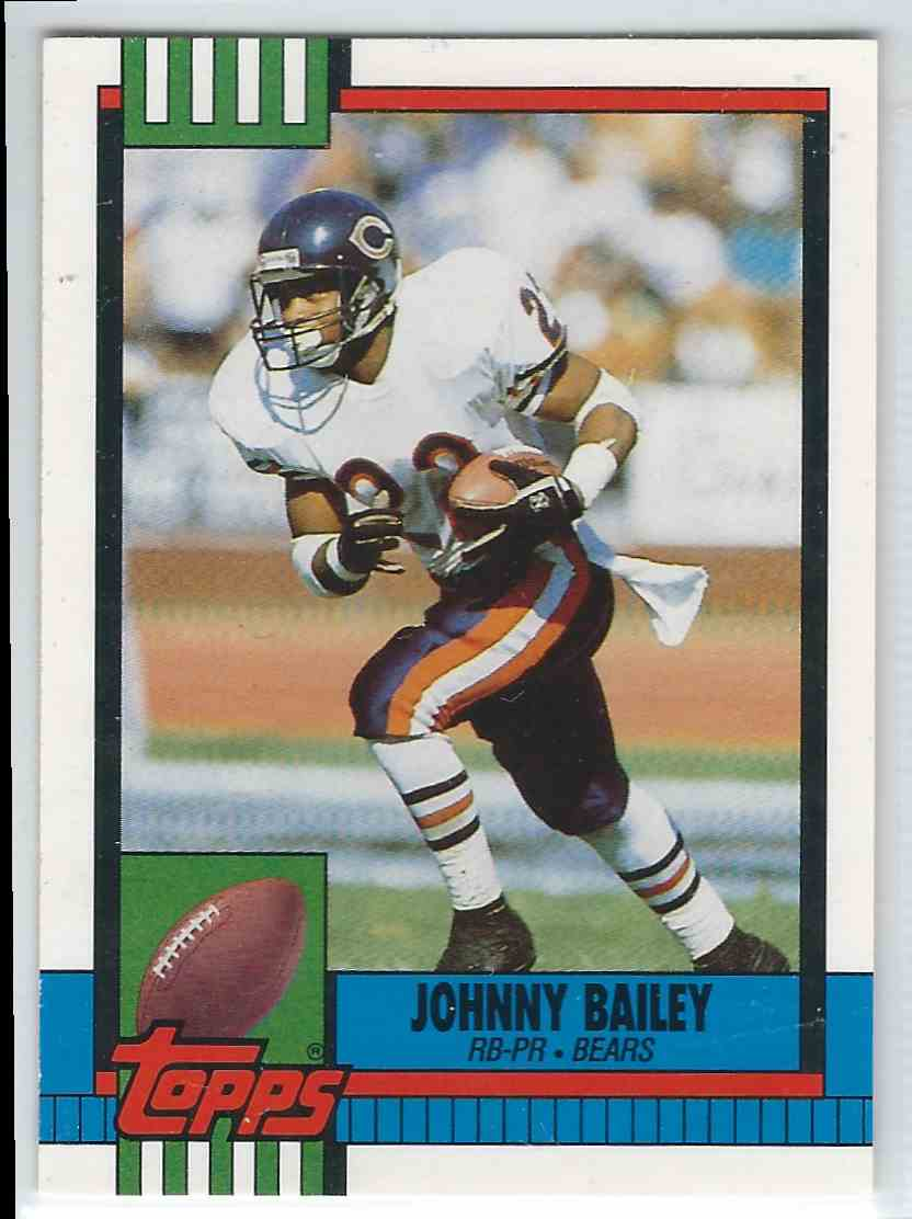 1990 Topps Traded Johnny Bailey #55T card front image