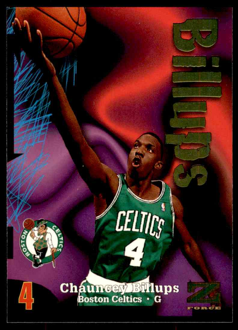 1997-98 Skybox Z Force Chauncey Billups #179 card front image