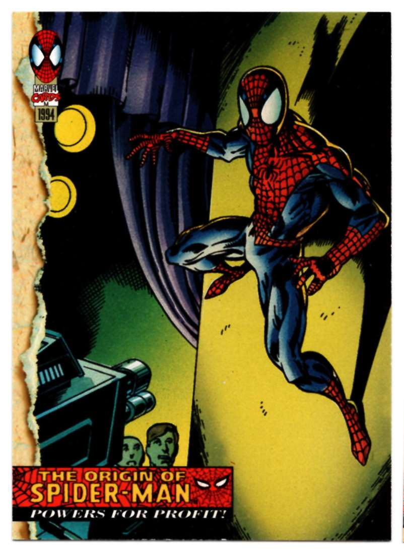 1994 Amazing Spider-Man Powers For Profit #129 card front image