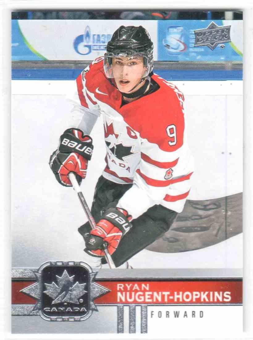 2017-18 Upper Deck Team Canada Canadian Tire Ryan Nugent-Hopkins #19 card front image