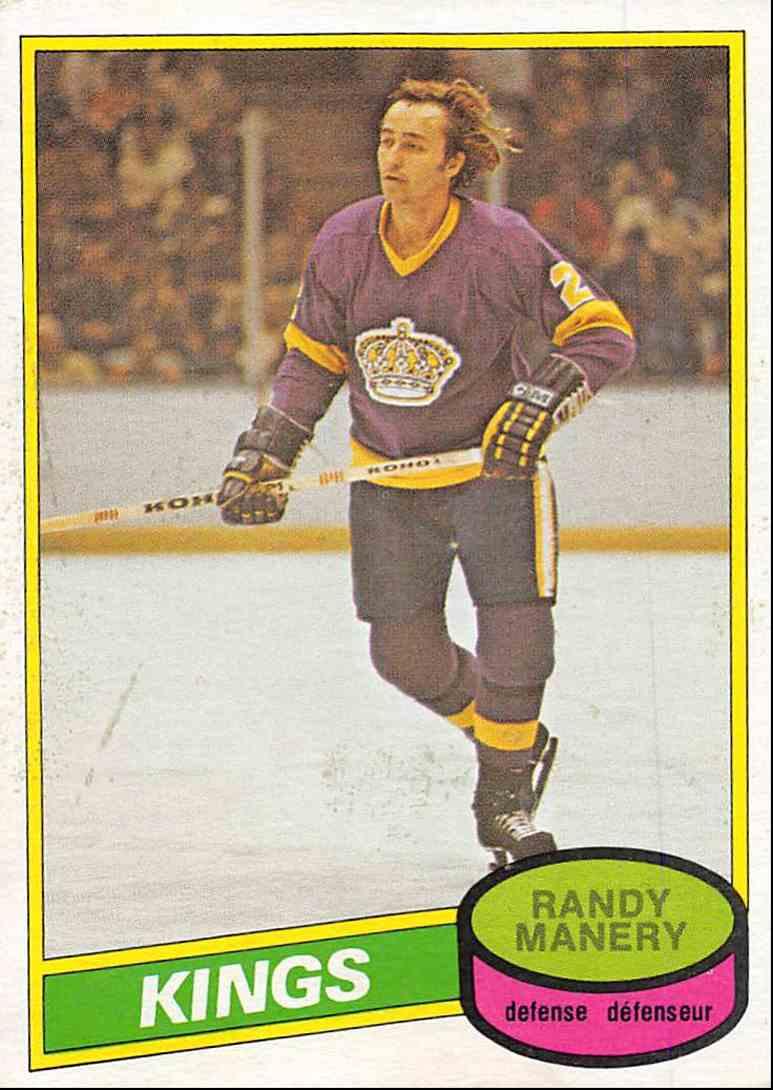 1980-81 O-Pee-Chee Randy Manery #342 card front image