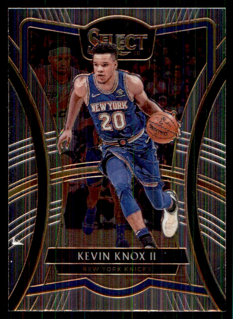 2019-20 Panini Select Kevin Knox II #103 card front image