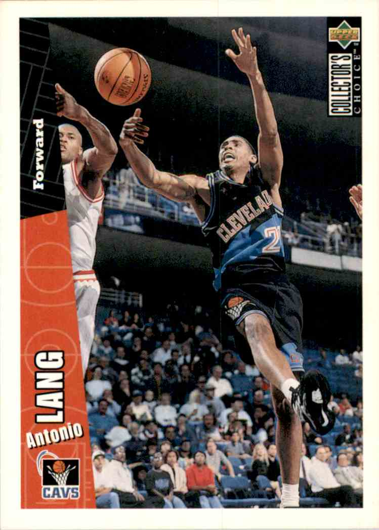 1996-97 Collector's Choice Antonio Lang #224 card front image