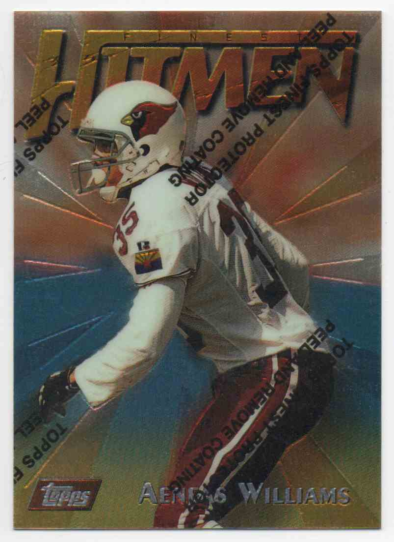 1997 Finest Aeneas Williams #66 card front image